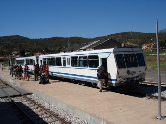 Train toCorte