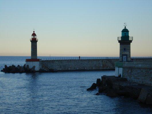 Bastia harbourlights
