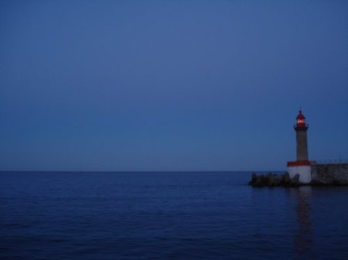 Bastia harbour lighthouse