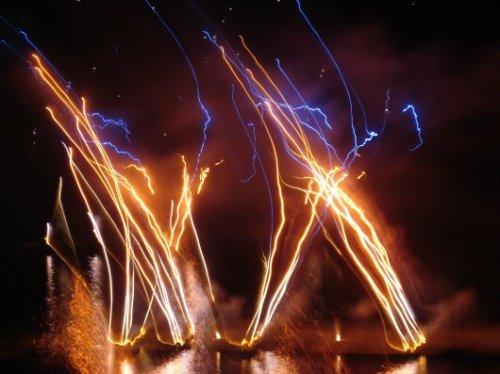 Bastille Day fireworks inBastia