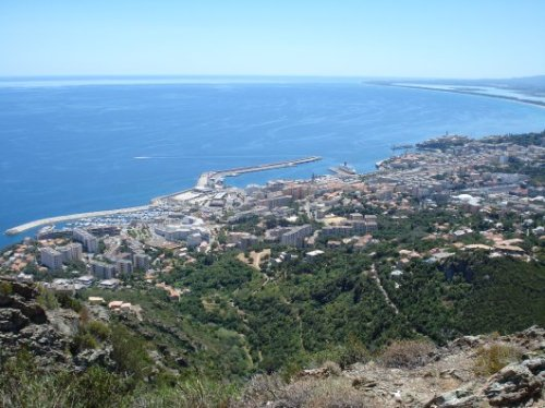 A view over Bastia