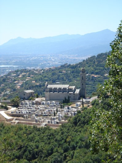 View over Pietrabugno