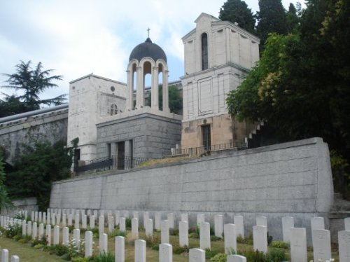 The Commonwealth War Graves, Staglieno