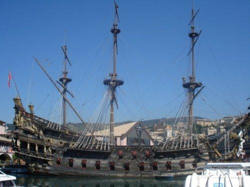 Polanski's pirate ship inGenoa