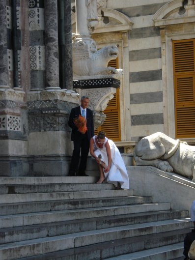 Couple at SanLorenzo