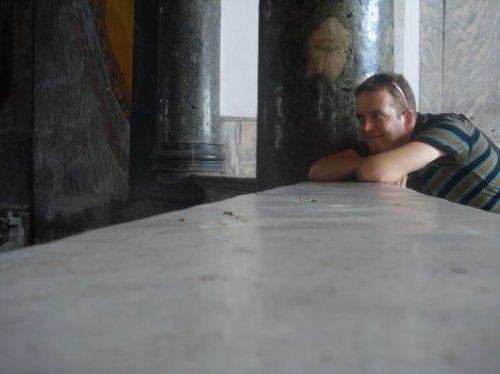 Martin at the Hagia Sofiagallery