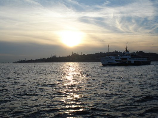 Istanbul in theevening