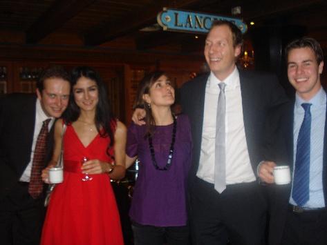 Martin, Elisabete, Alexandra, Thomas andJeff