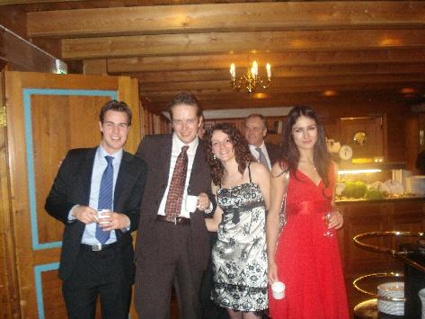 Jeff, Martin, Myriam,Elisabete