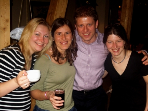 Irma, Claudia, Henry and Sanne