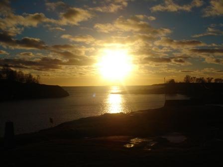 Sunset overHarakka