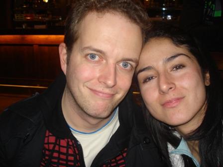 Martin and Ellie at SiljaStar