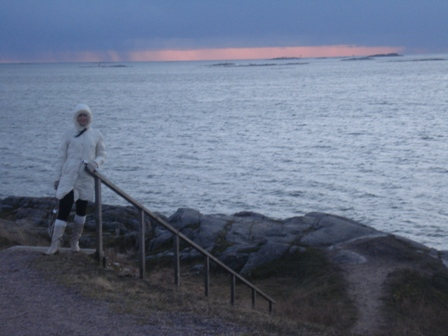 View from Suomenlinna to thewest