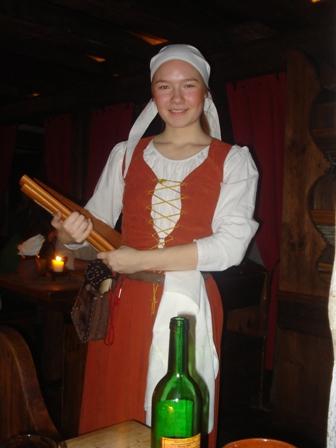 Waitress at OldeHansa