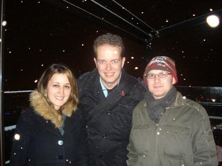 Mihaela, Martin and Tim atTorni