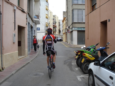 Jaume Passing through Cassa de la Selva