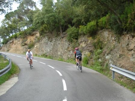 Riding the Hincapie climb