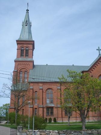 The new church in Nickby / Nikkilä