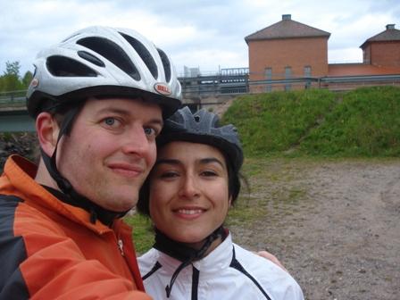 Ellie and Martin in Svartå