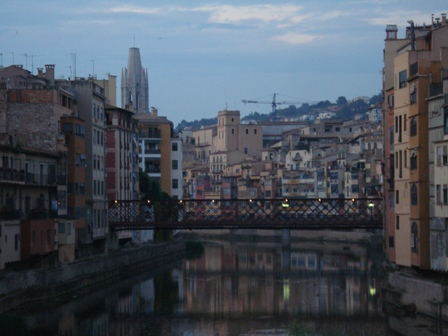 Evening view from Girona