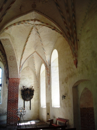 Interior from old Nickby church