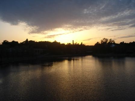 Viikki in the evening
