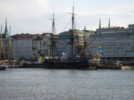 Götheborg in Helsinki South Harbour