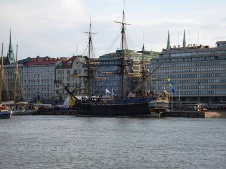 Götheborg in Helsinki South Harbour