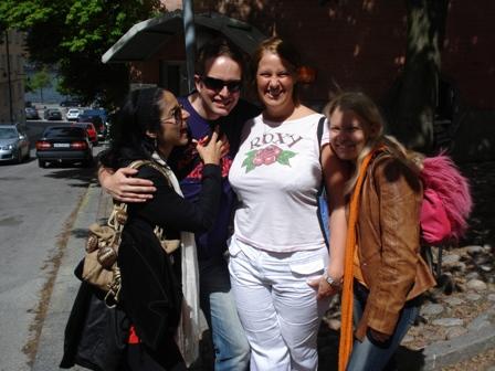 Ellie, Martin, Marianne and Anni