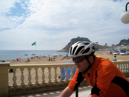 Martin in Tossa de Mar