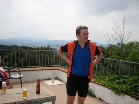 On the top of Els Ángels