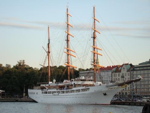 Sea Cloud II in Helsinki Harbour