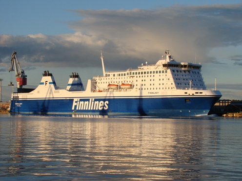 Finnlady in Sörnäinen Harbour