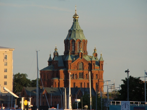 Uspenski cathedral from same location as pic above. Full zoom.