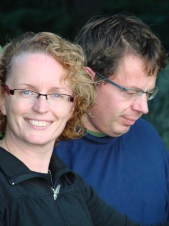 My sister Maria and her husband Ari