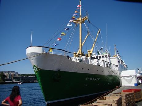 Old ships in Stavanger