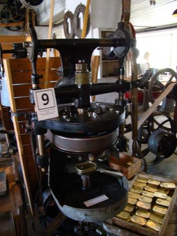 Stavanger Hermetikk museum sardine packing machine