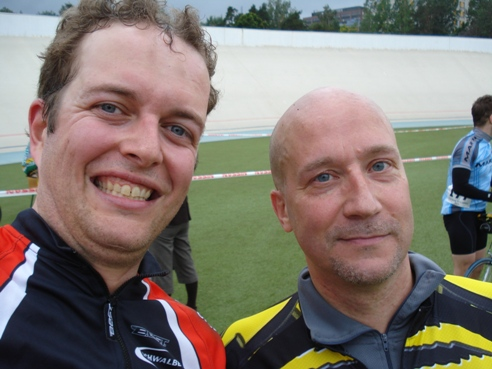 Me and Mika-Jussi in the finish