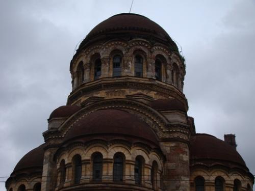 An abandoned church at Bolshoi Prospekt