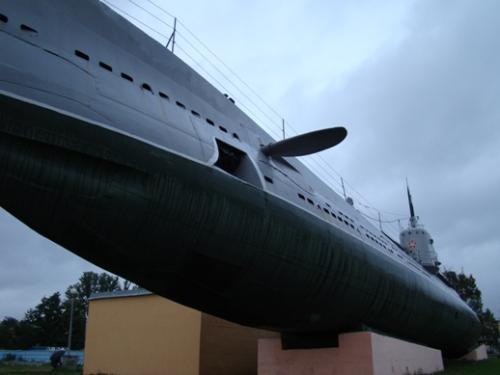 Museum submarine Narodovolets