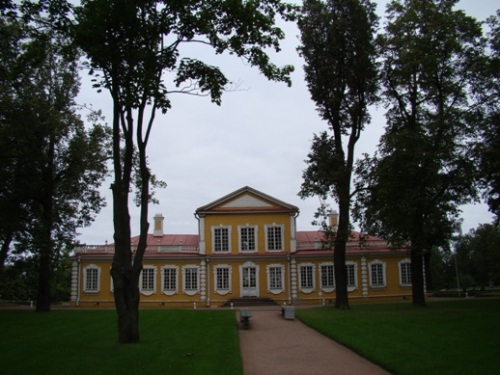 Palace of Peter the Great, who could be really modest at times