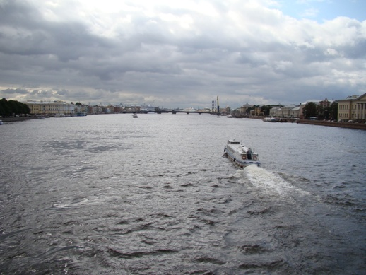 View over Neva
