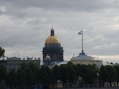 Saint Isaac's Cathedral and the Admirality