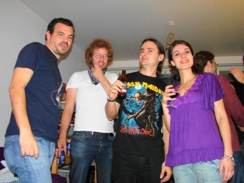 Duke, Arho, Serkan and Funda