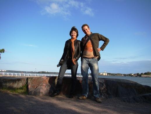 Showing Helsinki to Svetlana from Saint Petersburg